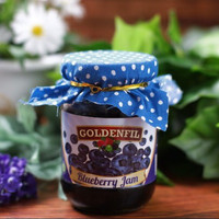 GOLDENFIL BLUEBERRY JAM 1 KG (50% buah asli) selai buah blueberry