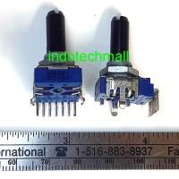 Potentiometer ALPS 104 C 100K stereo antilog RK14K Japan potensiometer