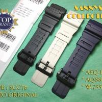 STRAP TALI JAM CASIO AQ-S810W - AQ S 810 W - AQS810W ORIGINAL FREE PEN