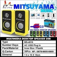 MS-4010 Speaker Komputer HP / Multimedia Desktop Speakers
