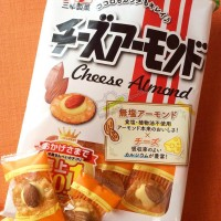 Jual [Best Seller] Sanko Cheese Almond Senbei Murah