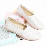 Jual Sepatu Flat Shoes Flatshoes Murah ala Wakai NS55 Putih Murah