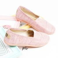 Sepatu Flat Shoes Flatshoes Murah ala Wakai NS55 Salem