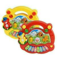 Mainan Anak Bayi Animal Piano Suara Binatang Free Baterai