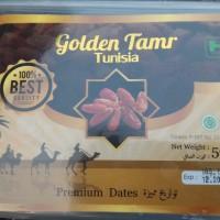 Kurma Golden Tamr Tunisia kemasan 500 gram