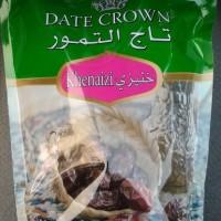 Kurma Date Crown Khenaizi kemasan 500 gram