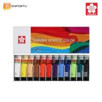 SAKURA Cat Acrylic Color Set 12