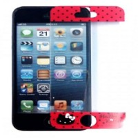 Gourmandise iPhone 5S Hello Kitty Screen Protector - Pink