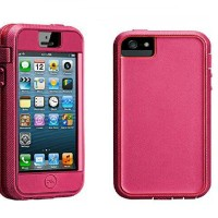 Case-Mate iPhone 5 Tough Xtreme (TBD) - Lipstick Pink/Flame Red