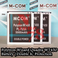 Baterai Polytron W7450 Wizard Quadra Pl-7u5a Double Power Protection