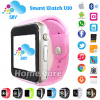 "Jam Tangan ""Putih"" iwatch U10 Smart Watch Touch Screen + GSM iPhone"