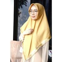 Jual Square Tassel / Segi Empat Rumbai / Hijab Segi Empat / Fashion Muslim Murah