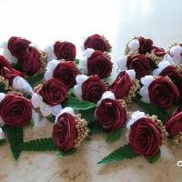 bros bunga saku jas pengantin, boutonniere, wedding korsase groom
