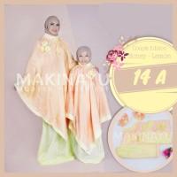 Mukena Couple Ponco Parasut Honey Lemon 14A