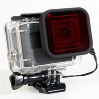 Red Filter Underwater Waterproof Case GoPro Hero 5 Diving Snorkeling