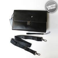Tas Pria Branded - Handbag Montblanc Black B233