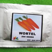 Harga benih wortel pack 200 biji   Pembandingharga.com