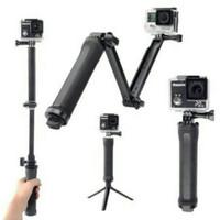 Jual 3-Way Grip-Arm-Tripod multifungsi portable serbaguna monopod terbaik Murah