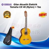 Gitar Akustik Elektrik Yamaha CX 40 / CX40 / CX-40 Nylon + Tas