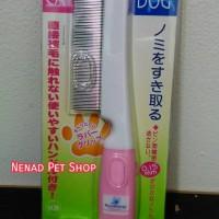 Sisir Kutu Anjing dan Kucing Dengan Gagang/Flea Comb With Handle