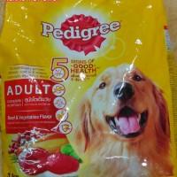 Makanan Anjing Dewasa Pedigree 3kg Beef and Vegetables Flavor