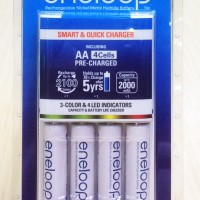 Jual Panasonic Eneloop Smart & Quick Charger 1.5 Hrs Murah