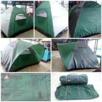 Jual NEW Tenda kemping Great Outdoor NSM Double Layer tenda camping 7 orang Murah