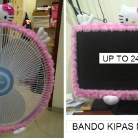 Jual BANDO KIPAS / BANDO TV LCD 24IN MAWAR PINK MUDA hello kitty Murah