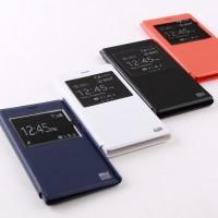 Jual Leather Flip Case Window Xiaomi Redmi 1 / Note 1 / Mi 3 Murah