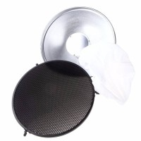 Beauty Dish 42 inch With Honeycomb + Diffuser soft