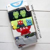 Babymix  - Jumper Carters 5in1 Lengan Pendek Cowok - 9M