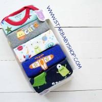 Babymix  - Jumper Carters 5in1 Lengan Pendek Cowok - 3M