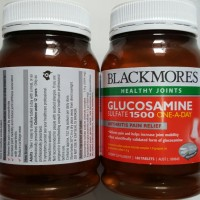 Blackmores Glucosamine Sulfate 1500 ONE A DAY HEALTHY JOINTS MADE AUSY