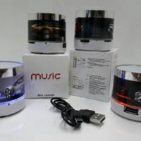 Speaker bluetooth lampu