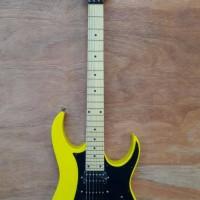 gitar elektrik Ibanez RG series kuning