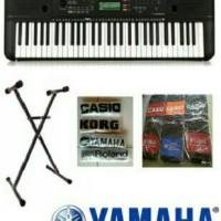 Jual Keyboard Yamaha PSR E 263 + stand + tas + cover Murah