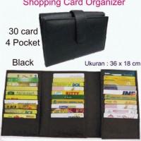 Jual Shopping Card Organizer Dompet Card Dompet Kartu ATM Kartu Kredit Murah