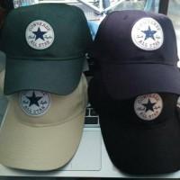 Original REGULAR CAP converse ori BLACK Topi Murah langka
