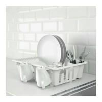 Ikea Flundra Rak Piring Putih