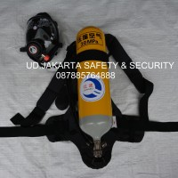 SCBA BREATHING APPARATUS SET INCLUDE FACE MASK 6 LITER JIANGBO MURAH