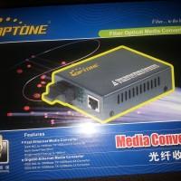 Media Converter Optone 10/100/1000 Single Core WDM SC OPT-3201S20