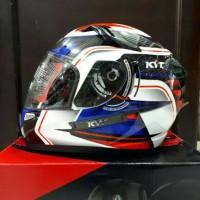 helm fullface KYT K2 super fluo seri 2