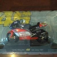 diecast miniatur MotoGP Valentino Rossi test Jerez 1997