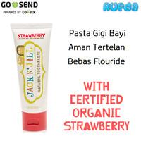 Harga jack n jill strawberry odol pasta gigi bayi natural dg | Pembandingharga.com