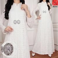 harga Baju Gamis Putih / Busana Muslim / Baju Muslim #80241 Std Tokopedia.com