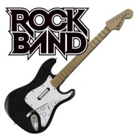PS2 PS3 Rock Band Wireless Guitar (Fender Stratocaster)