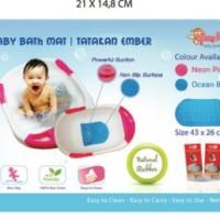 baby bath mat/tatakan mandi bayi/karet mandi bayi anti slip