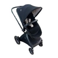 Kereta Dorong Bayi Stroller Geoby GB001H RyseLX 3 in 1 W6ZB Black