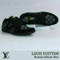 Sepatu Casual Louis Vuitton Kulit Pria Slip On Santai Slop Semi Formal 7dca075e6c