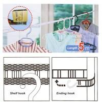 Tali Jemuran 5 Meter Super Praktis / Hanger / Gantungan Baju